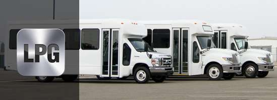 propane bus for sale